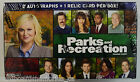 2013 Presspass Parks & Recreation Trading Cards Factory Sealed Hobby Box