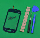 For Samsung Galaxy Fame GT-S6810P M Blue Touch Screen Digitizer Glass Lens