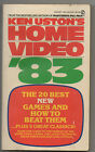 Vintage 1982 1st ED PB Book HOME VIDEO '83 Ken Uston Pac Man Kong Space Invaders