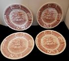 Staffordshire ALFRED MEAKIN Fair Winds 4 DINNER PLATE 10-1/2