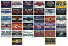 NFL Football Decal Sticker Vintage Banner Team Logo Choose from all 32 Teams