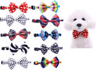 Small Dog Grooming Bow Tie Collar Puppy Accessories Yorkie puppy Bowtie Supplies