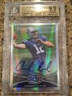 Andrew Luck 2012 Topps Chrome Prism Refractor Auto RC 23 50 BGS 9.5 10