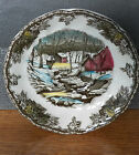 JOHNSON BROTHERS ENGLAND MADE THE FRIENDLY VILLAGE THE ICE HOUSE SAUCER 63295541