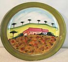 VIETRI Landscape Italian Large Dinner Serving Wall Plate Platter Hand Painted