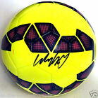 MANCHESTER UNITED MANU WAYNE ROONEY SIGNED AUTOGRAPHED NIKE SOCCER BALL! W PROOF
