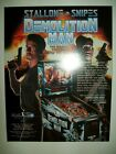 1994 Williams DEMOLITION MAN Pinball Flyer!