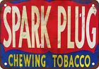 Spark Plug Chewing Tobacco Vintage Look Reproduction Metal Sign