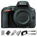 NEW Nikon D5500 Black Digital SLR Camera 242MP DX Format Camera Body Only