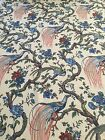 OLANA Waverly Peacock Fabric 34 yards upolstery / drapery
