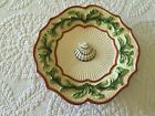 Fitz and Floyd Classics Oceana Shell Scalloped Plate
