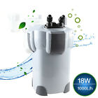 SunSun HW-402B 4-Stage Aquarium Tank External Canister Filter 9W UV Sterilizer