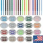 ROUND ATHLETIC Sport 27 36 40 45 54 63 72 Inch SHOELACES Sneaker Laces NEW