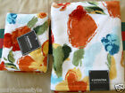 ROUGE POPPY FLOWERS LUXURY 100% COTTON VELOUR 2PC BATH TOWEL SET BY KASSA FINA