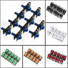 CNC Motorcycle M5 Body Fairing Bolts Fastener Clips Screw For Suzuki GSXR 1000