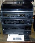 GE Turnable Record Player Dual Cassette Radio Amplifier Stereo COMBO 11- 5020A