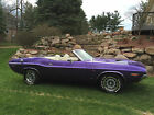 Dodge Challenger R T Convertible 1970 dodge challenger r t convertible fc 7 plum crazy numbers matching