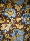 Vintage Waverly Upholstery Fabric NOS Victorian Floral Bancroft Hall 20+ Yards