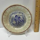 Antique Childs ABC Plate, Staffordshire