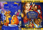 Lady and the Tramp  Beauty and the Beast Disney Platinum Edition Combo Pack