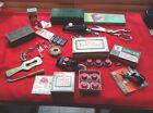 Singer Vintage Lot Of Attachments Zigzagger Blind Stitch Buttonholer Pinking Sh