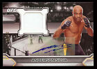 ANDERSON SILVA 2016 UFC Knockout Fighter Worn Gear Relic AUTO # 39 50