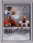 2011 Exquisite CAM NEWTON, AJ GREEN, MARK INGRAM Auto RC Card #d 12 15!!! MVP!!