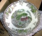 New Johnson Bros ENGLAND FRIENDLY VILLAGE COUP CEREAL BOWL THE STONE WALL