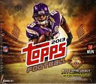 (2) BOX LOT 2013 TOPPS JUMBO FOOTBALL BOXES SEALED HOBBY HTA FREE SHIP