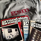 GRAND SLAM Magazine Issues #1 #2 #3 #4 w/ CDs + L Shirt Funk Rare Groove HIP HOP