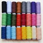 24 Lot Polyester Spools All Purpose Sewing And Quilting Threads Great Quality US