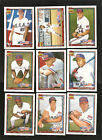 1991 TOPPS OLYMPIC TRADED SET GIAMBI HELLING+ RARE NM++