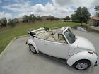 Volkswagen Beetle Classic Champagne Edition 1977 volkswagen karmann beetle triple white convertible champagne edition
