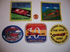 5 ROYAL RANGERS PATCHES PINEWOOD DERBY POTOMAC CAPITAL OUTPOST