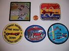 5 ROYAL RANGERS PATCHES PINEWOOD DERBY POTOMAC CAPITAL OUTPOST EASTERN