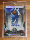 2013 Bowman Platinum Cutting Edge Yasiel Puig Die Cut Auto Rc #14 25 - CESA-YP