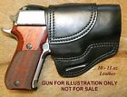 Gary Cs Avenger OWB HOLSTER Sig Sauer P220 Carry with Pinch Sweat Guard Leather