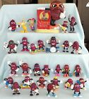 CALIFORNIA RAISINS PVC VINYL CLAYMATION FIGURE BANK LOT HARDEES APPLAUSE CALRAB