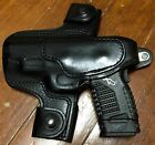 XDS 45 4inch LH Holster Black Hand Made By AlessiHolster only