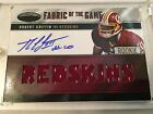 ROBERT GRIFFIN III 2012 CERTIFIED FABRIC OF THE GAME ROOKIE JERSEY AUTO # 25 RC