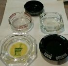 Lot of 5 Vintage Hotel Casino Ashtrays Stardust Four Queens Ramada Holiday Inn