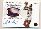 2014-15 Flawless * HAKEEM OLAJUWON * 6 Color Game Worn Patch * Autograph * #4 15