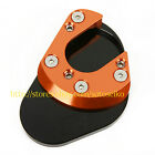 For KTM 990 Adventure/R/S/LC8 2006-2013 Sidestand Plate Kickstand Extension Pad