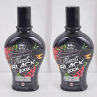 EUROPEAN GOLD FLASH BLACK 200X INDOOR TANNING LOTION,7.5 OZ - 2 Pack