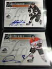 Drew Doughty Anze Kopitar 11-12 SP Game Used Significance Autograph 50 Kings