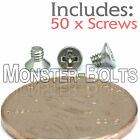 M2 x 3mm - Qty 50 - Stainless Steel DIN 965 Phillips FLAT HEAD Ma