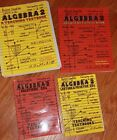 Teaching Textbooks Algebra 2 Complete Set Workbook answer Key And CDs VGUC