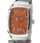 Parmigiani Fleurier Kalpa Grande Stainless Steel Orange Dial 36mm LTD ED B+P