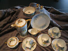 J.R. Kittler c. 1920's for Marshall Fields Hand Painted18 pc. Tea/Chocolate Set