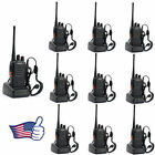 10 pcs Walkie Talkie Way Radio 2 Two Frs Gmrs Mile New Motorola Midland Radios #